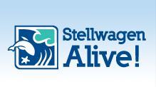Stell Wagen Sweep Logo